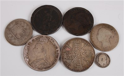 Lot 2075-Great Britain, collection of seven George III and ...