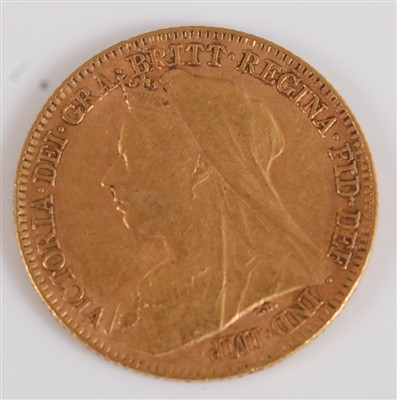 Lot 2042-Great Britain, 1897 gold half sovereign,...