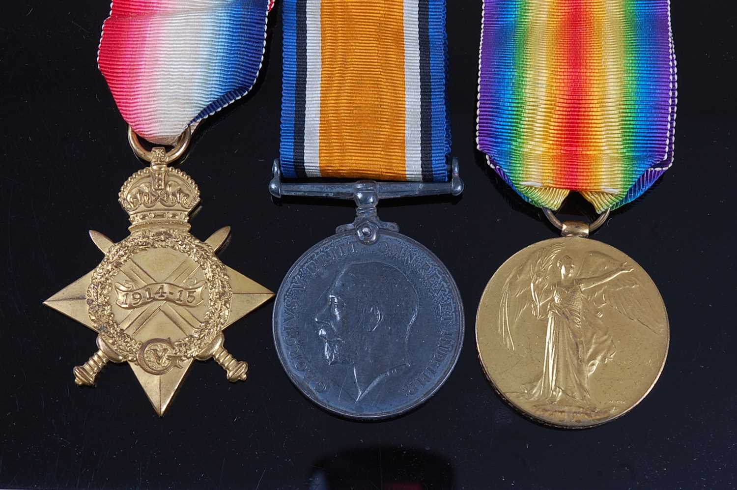 Lot 45-A WW I trio