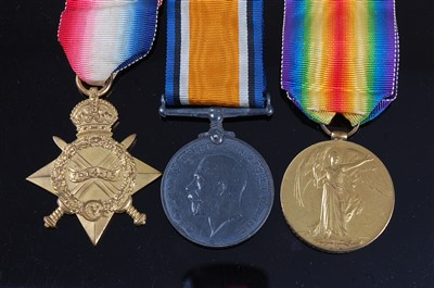 Lot 45 - A WW I trio
