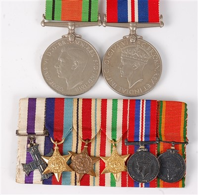 Lot 57-A group of six miniature medals