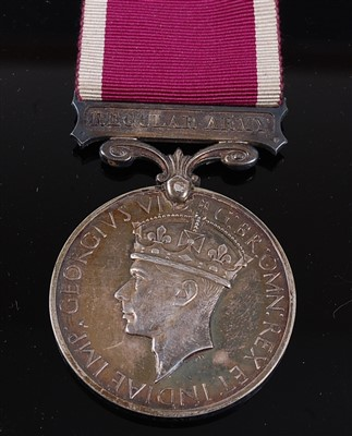 Lot 21-A Geo. VI. Regular Army Long Service and Good Conduct medal
