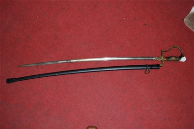 Lot 47-A German Third Reich Army Officer's sword