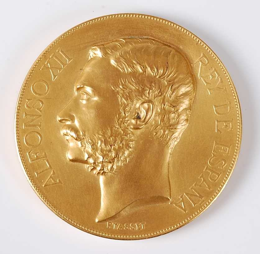 Lot 40-Spain, Alfonso XII