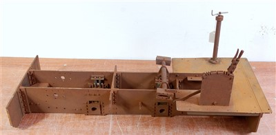 "Lot 34-A 5"" gauge part built chassis frame and extra..."