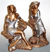 Lot 22-A large Austin Sculpture Collection resin Fancy...