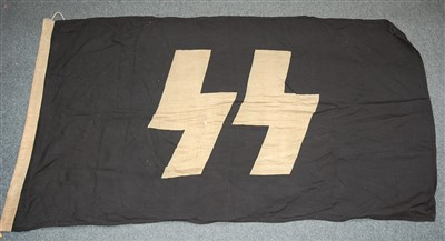 Lot 52-A German SS Flag