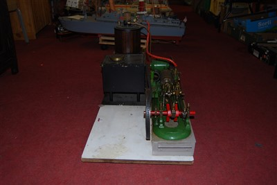 Lot 33-A Stuart Turner and other components live steam...