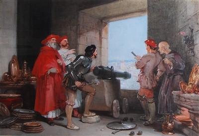 Lot 1442 - George Cattermole (1800-1868) - Benvenuto...