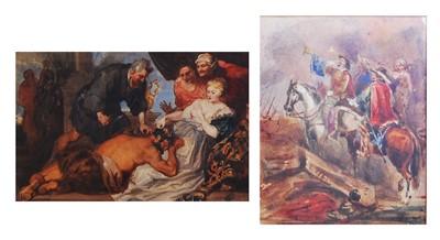 Lot 1451 - George Cattermole (1800-1868) - Samson &...