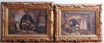 Lot 1450 - George Cattermole (1800-1868) - Brigands...