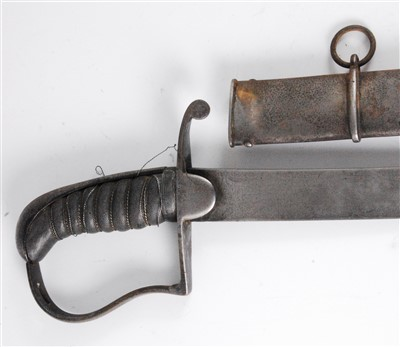 Lot 2-A 1796 pattern Light Cavalry sabre
