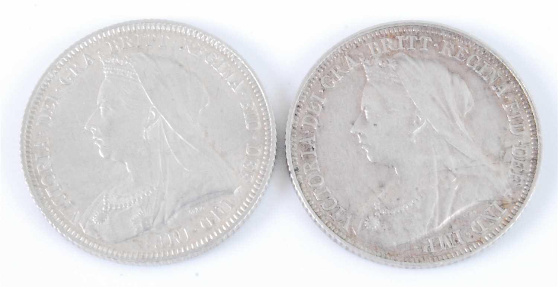 Lot 2012-Great Britain, 1893 shilling