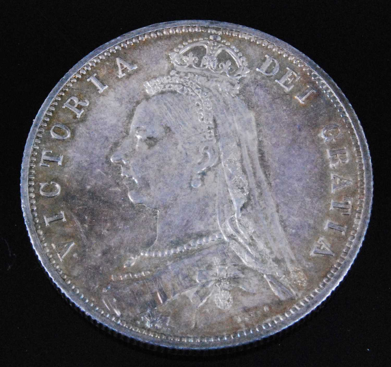 Lot 2013-Great Britain, 1887 Half Crown