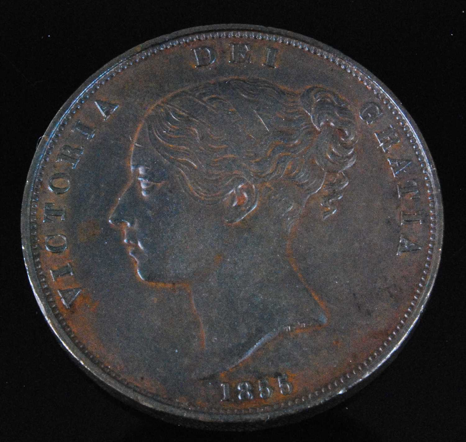 Lot 2032-Great Britain, 1885 penny, Victoria