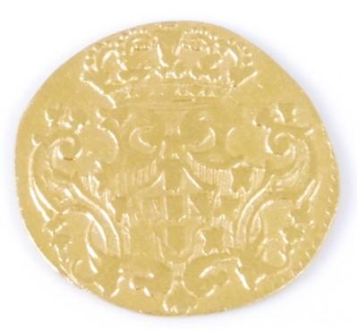 Lot 2049-Portugal, 1746 gold 1/2 Escudo