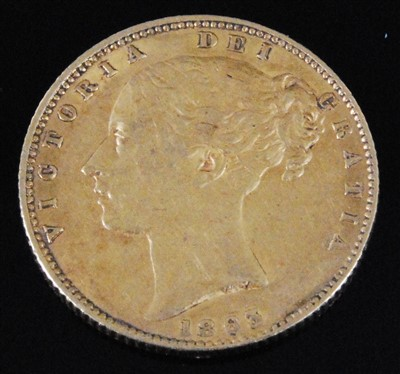 Lot 2054-Great Britain, 1862 full sovereign
