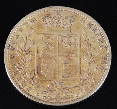 Lot 2054-Great Britain, 1862 full sovereign