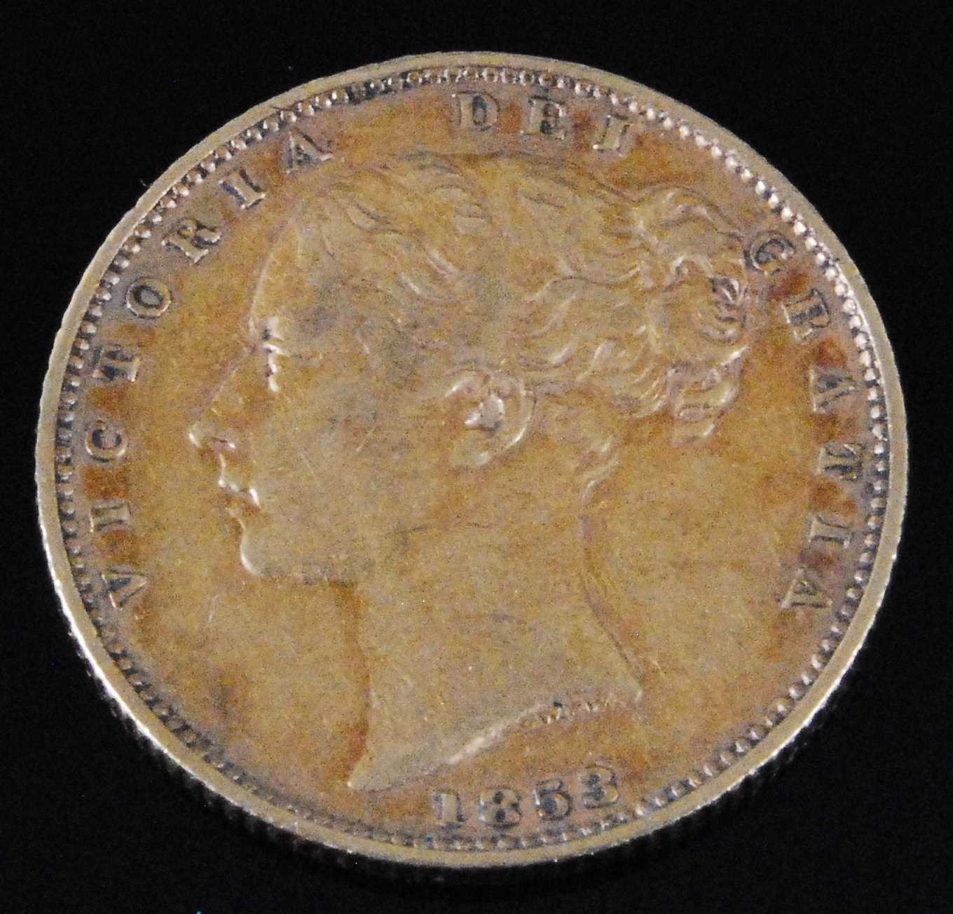 Lot 2055-Great Britain, 1853 gold full sovereign