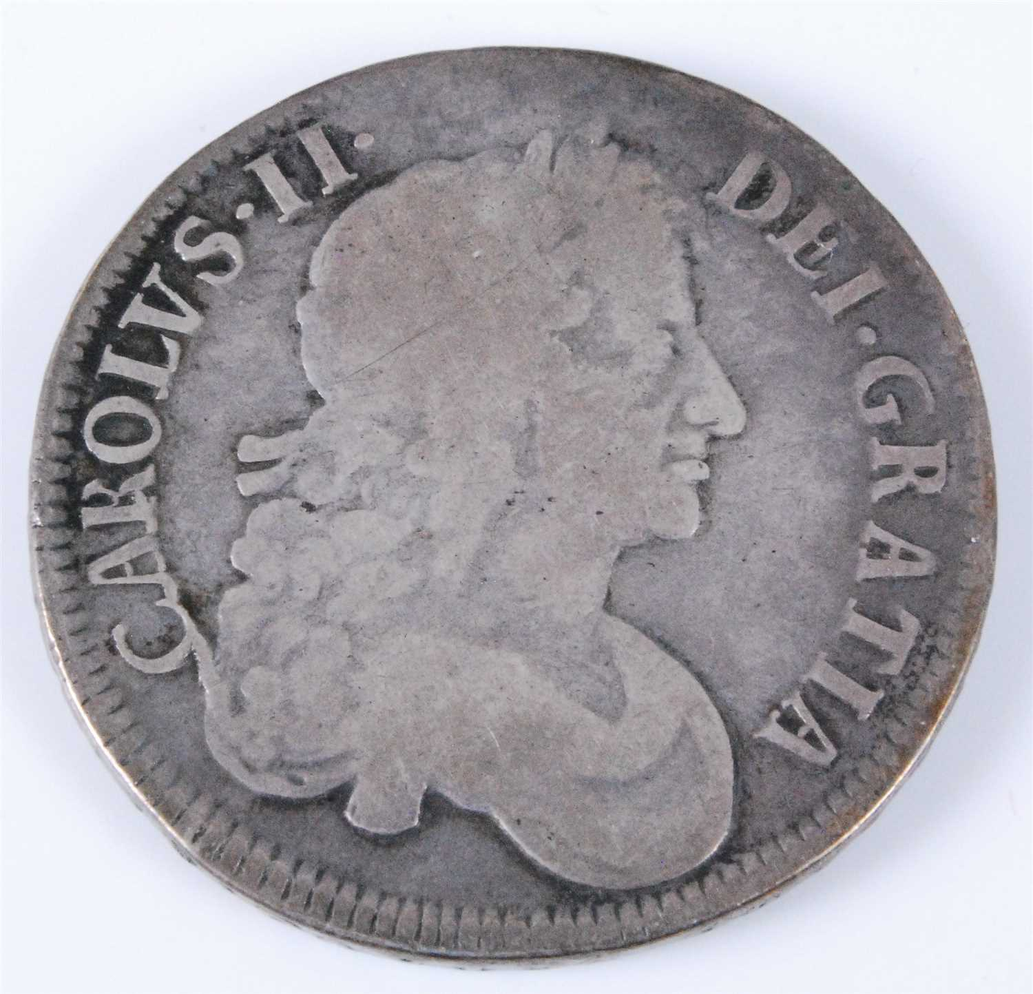 Lot 2002-England, 1676  crown