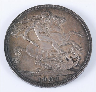 Lot 2015-Great Britain, 1902 crown