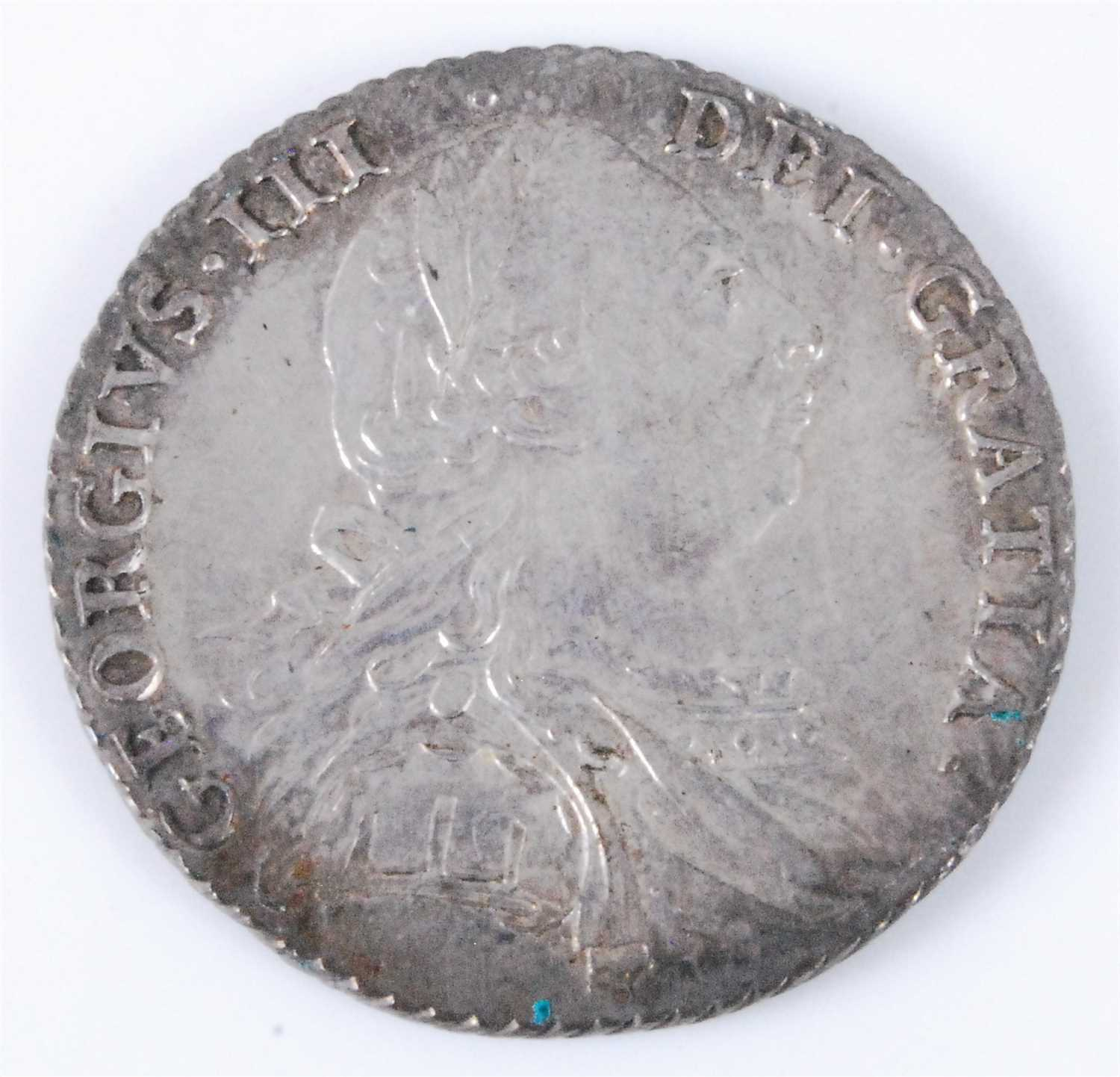 Lot 2003-Great Britain,  1787 shilling