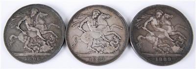 Lot 2016-Great Britain, 1896 crown