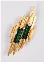 Lot 265 - A gemset brooch by Andrew Grima (1921-2007),...