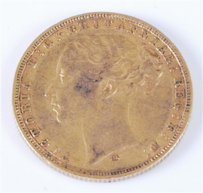 Lot 2053 - Great Britain, 1879 gold full sovereign