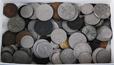 Lot 2084-Great Britain and World, a collection of 19th century and later coins to include