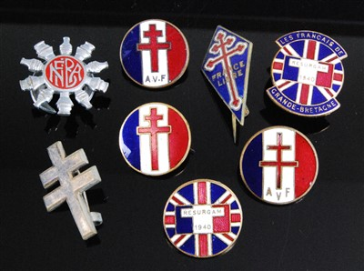 Lot 23-A WW II Free French Forces