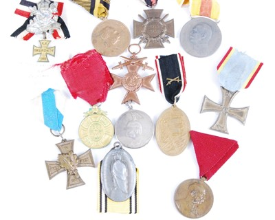 Lot 31-A collection of 12 German medals to include
