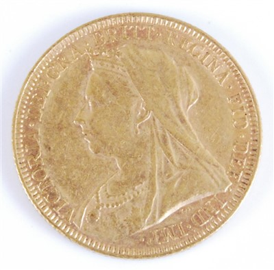 Lot 2060 - Great Britain, 1893 gold full sovereign