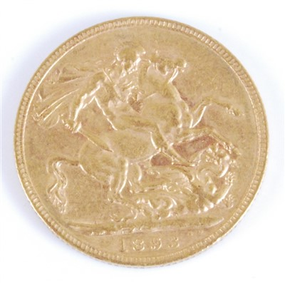 Lot 2060-Great Britain, 1893 gold full sovereign