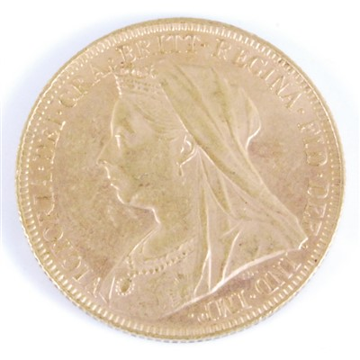 Lot 2061-Great Britain, 1894 gold full sovereign