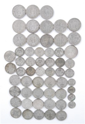 Lot 2087-Great Britain, a collection of George V/VI silver coins