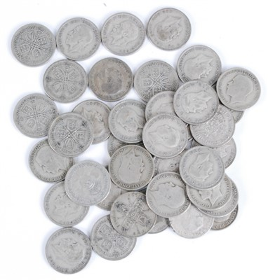 Lot 2093-Great Britain, a mixed lot of George V/VI coins to include