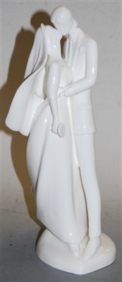 Lot 5-A Royal Doulton Images figure 'Wedding Day',...