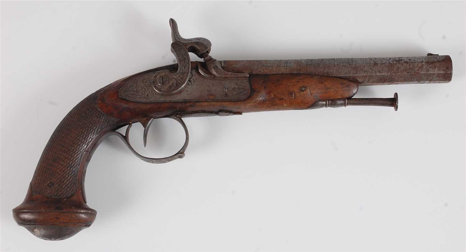 Lot 7-A 19th century percussion pistol