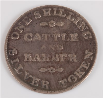 Lot 2086-Great Britain, 1 Shilling token