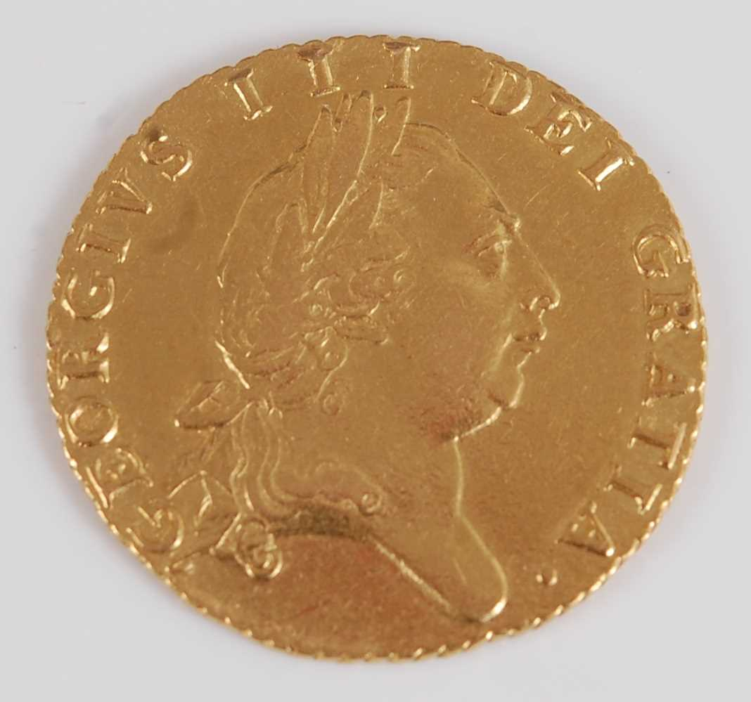 Lot 2062-Great Britain, 1787 gold spade guinea