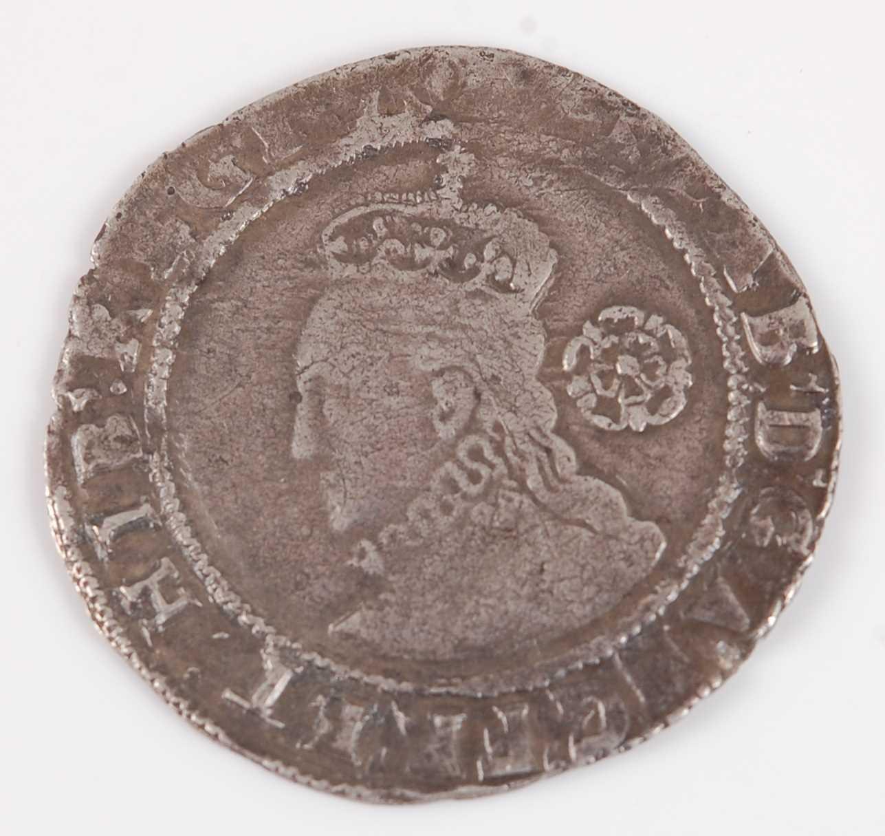 Lot 2005-England, 1583 sixpence