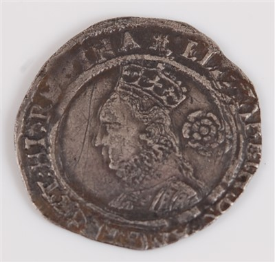 Lot 2006-England, 1571 threepence