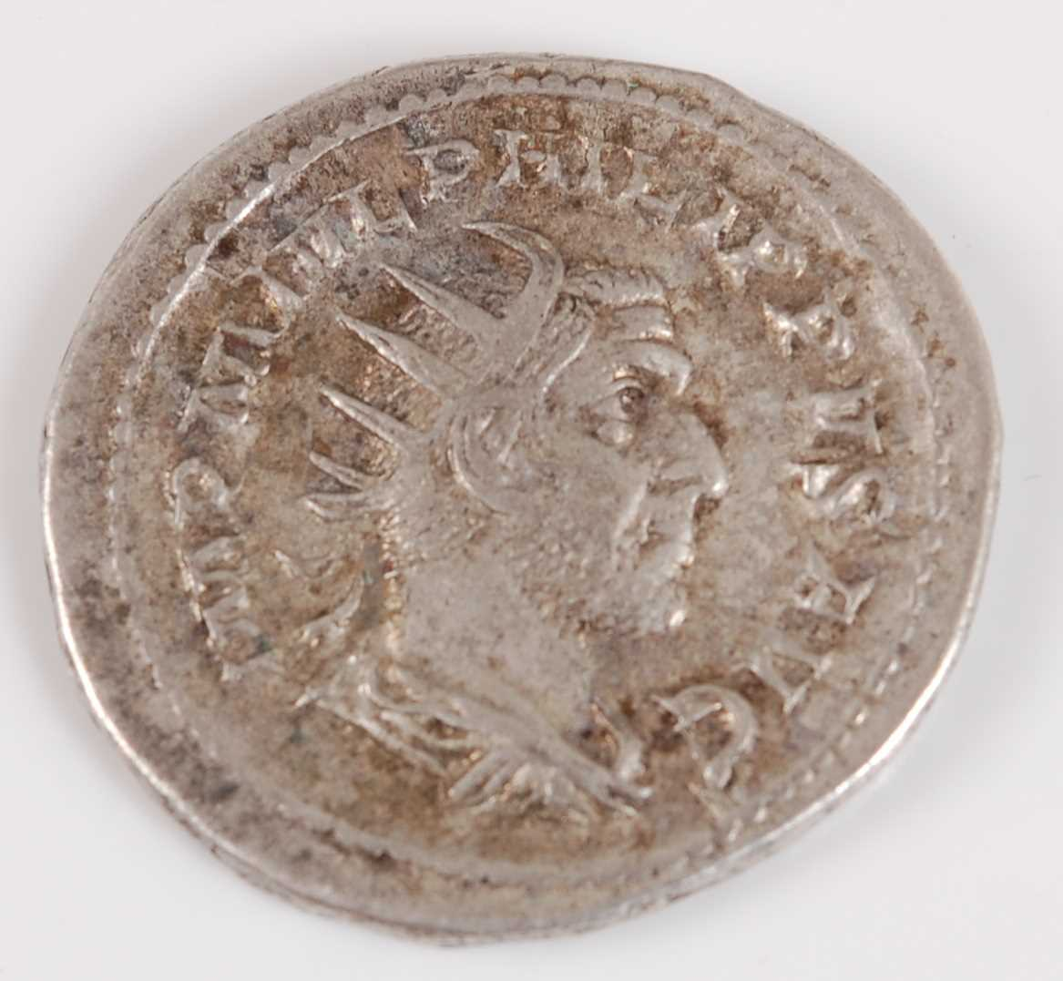 Lot 2018-Roman, Phillipus I, 244-249 AR Antoninianus