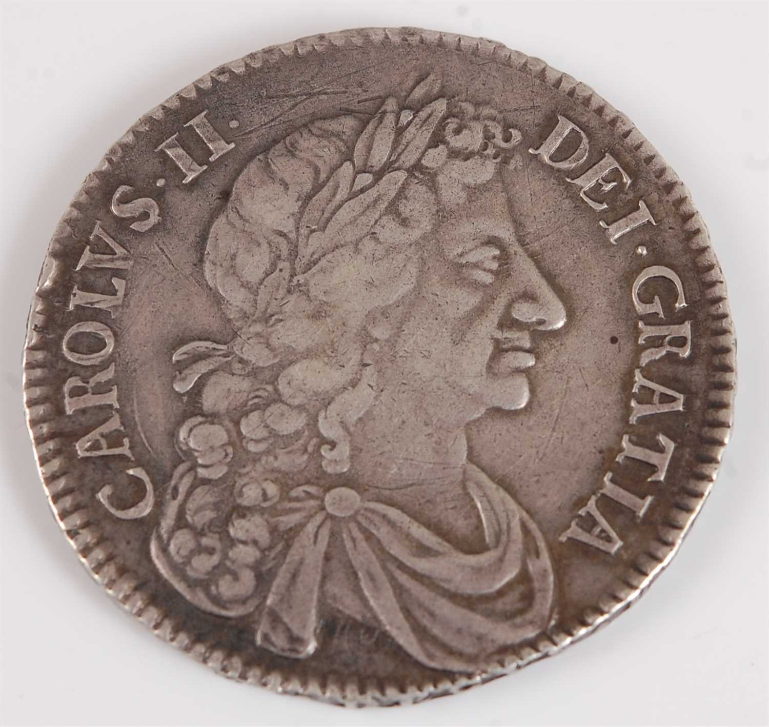 Lot 2026-England, 1677 half crown