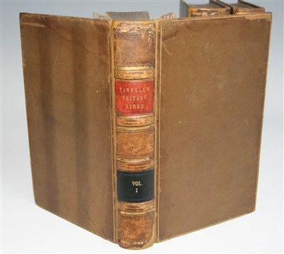 Lot 1002-YARRELL, William, A History of British Birds,...