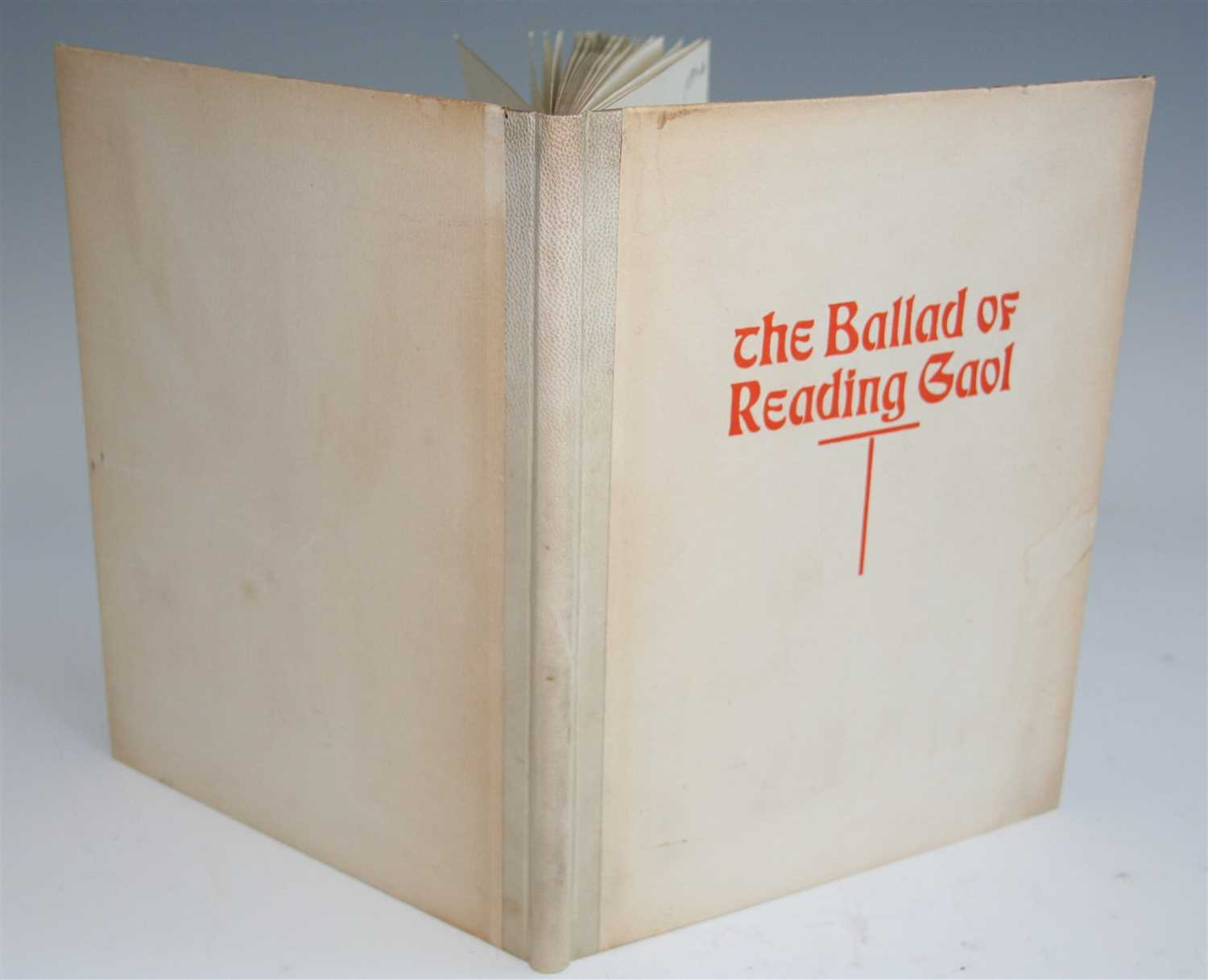 Lot 1010-Wilde, Oscar, The Ballad of Reading Gaol. O.C....