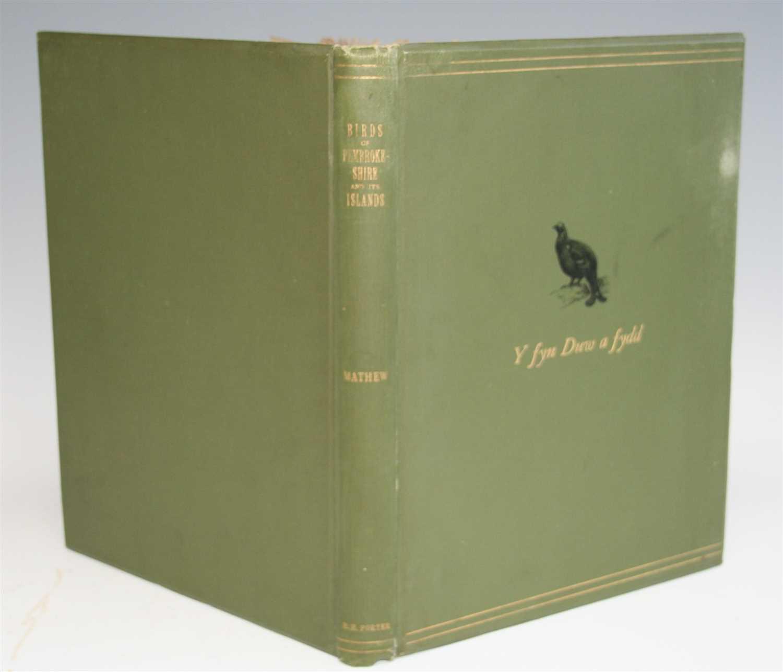 Lot 1013-MATHEW, Rev. Murray, A, The Birds of...