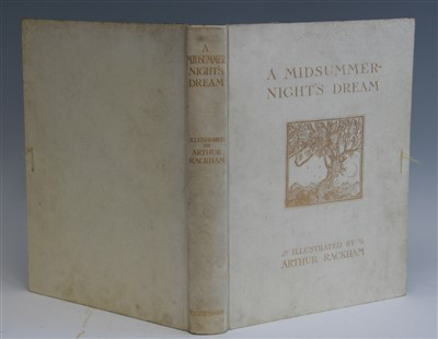 Lot 1014-SHAKESPEARE, William (illus Arthur RACKHAM). A...