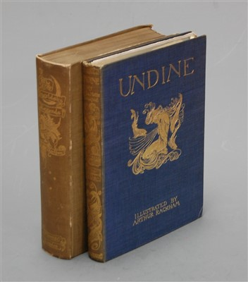 Lot 1015-FOUQUE, Friedrich De La Motte (illus Arthur...